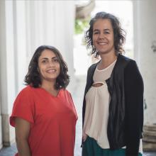 Flávia Mendonça y Aline Monçores
